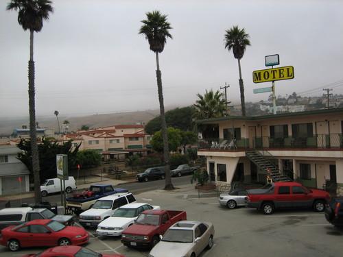 From Motel Balcony