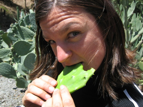 Sexy Megan Enjoys a Juicy Nopalito